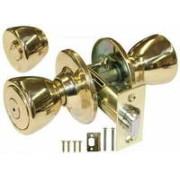 DR-BPB315PB - Tulip Shaped Privacy Lock-Polished Brass