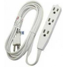 PT-3916-09W - UL 3 Outlet Extension 9'