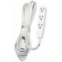 PT-3916-15W - UL 3 Outlet Extension 15'