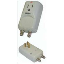PT-7820AA - UL Surge Outlet w/ Coaxial **