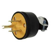 PT-7915 - 3 Wire Rubber/Plastic Grounded Plug