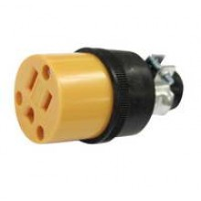 PT-7916 - 3 Wire Rubber/Plastic Grounded Socket