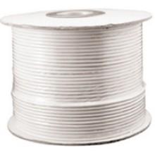 RG59U-1000W - 1000' White RG59U Coaxial Cable (Spool)