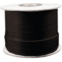 RG59U-500B - 500' Black RG59U Coaxial Cable (Spool)