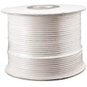 RG59U-500W - 500' White RG59U Coaxial Cable (Spool)