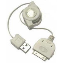 SN-IP345 - Retractable iPhone Plug -to- USB Plug **