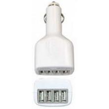 SN-IP5224U - USB Car Charger w/ 4 USB