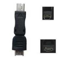 SN-U215 - 5 Pin Male - Micro USB Female Adapter **