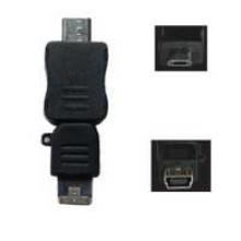 SN-U216 - Micro Male - Mini 5 Pin Female Adapter **