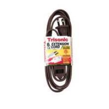 TS-4706B - 6' ETL Extension Cords (Brown)