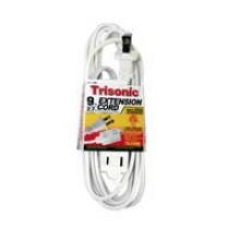 TS-4709W - 9' ETL Extension Cords (White)