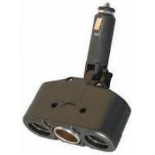 TS-533 - Triple Power Socket Adapter Black **