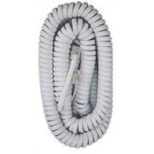 TS-615 WHT - 15' Telephone Coil Cord White