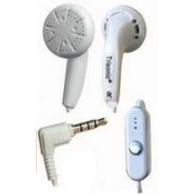 TS-CPP525 - White 3.5mm Earphone w/ Microphone