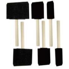 TS-G105A - 6 PC Foam Paint Brushes