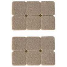 TS-G512FF - 12 PC Square Furniture Protectors