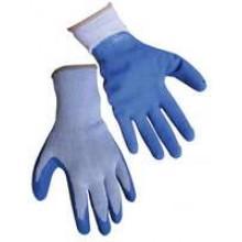 TS-GL3500 - Blue Latex Poly Gloves