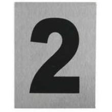 """TS-HW200-2 -""""2"""" Aluminum Number"""