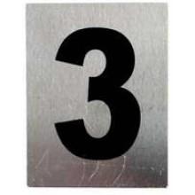 """TS-HW200-3 -""""3"""" Aluminum Number"""