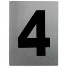 """TS-HW200-4 -""""4"""" Aluminum Number"""
