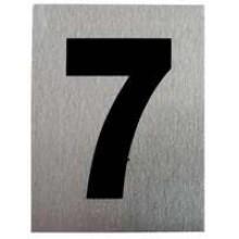 """TS-HW200-7 -""""7"""" Aluminum Number"""