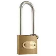 """TS-LKF6812L - 1.5"""" Brass Colored Hardened Steel Lock (Long Shaft)"""