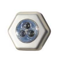 TS-LL4527 - 3 LED Hexangular Push Light **