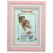 TS-PFS460PW - 4x6 Picture Frame - Pink/White **