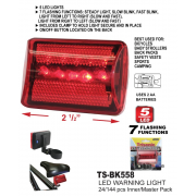TS-BK558 - LED Bicycle Rear Tail Red Bike Safety Light