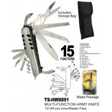 TS-HW8891 - Multi-Function Army Knife