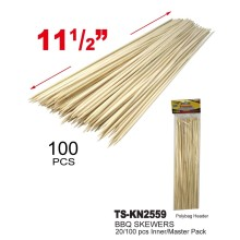 TS-KN2559 - 100pc Bamboo BBQ Skewers