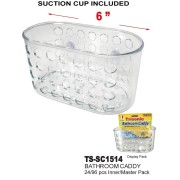 TS-SC1514 - Bathroom Caddy with Suction Cups
