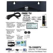 Flat Digital TV Antenna - TS-1599DTV