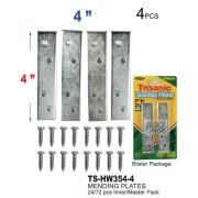 "TS-HW354-4 - 4"" Mending Plates"