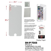 SN-IP-TG6S - iPhone 6 Tempered Glass Screen Protector