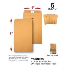 TS-SN705 - 6 x 9 Clasp Envelope