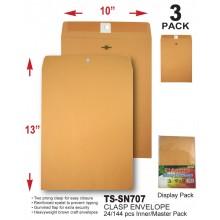 TS-SN705 - 10 x 13 Clasp Envelope