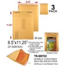 Large Bubble Cushioned Mailing Envelopes - TS-SN702