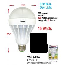"""TS-LA15W - 6.5"""" X 3.5"""" LED Bulb Day Light"""