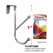 """TS-HW728BB - 6"""" Over the Door Hook"""