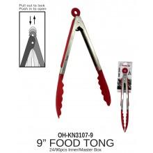 """OH-KN3107-9 - 9"""" Food Tong"""