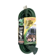 PT-3825GN - E UL HD Extension Cord 25' Green