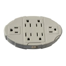PT-7825 - UL 6 Outlet Wall Adapter